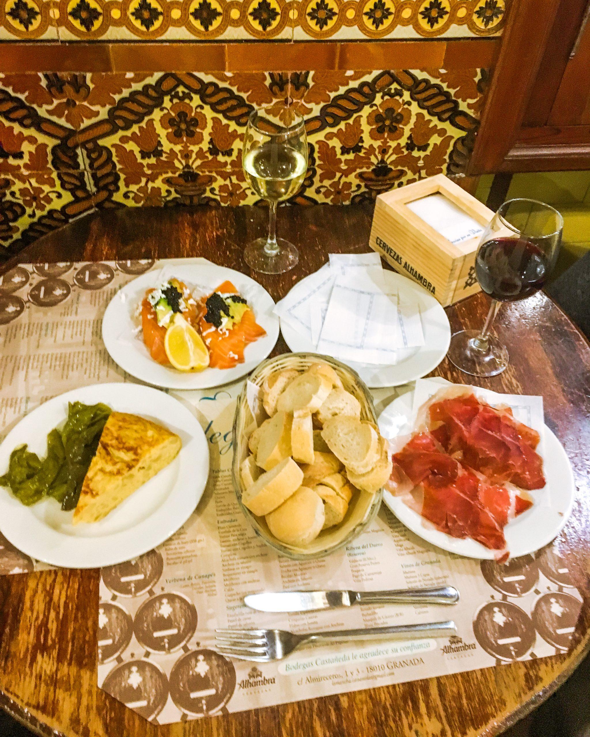 Granada Spain tapas