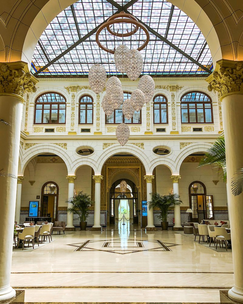 gran hotel miramar malaga spain
