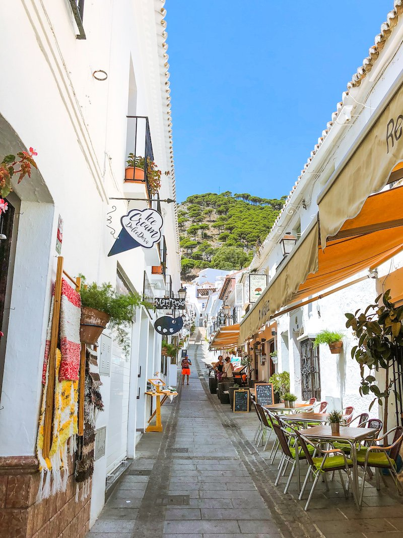 Mijas Spain Alley