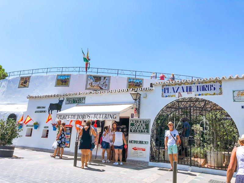Mijas Spain Plaza de Toros