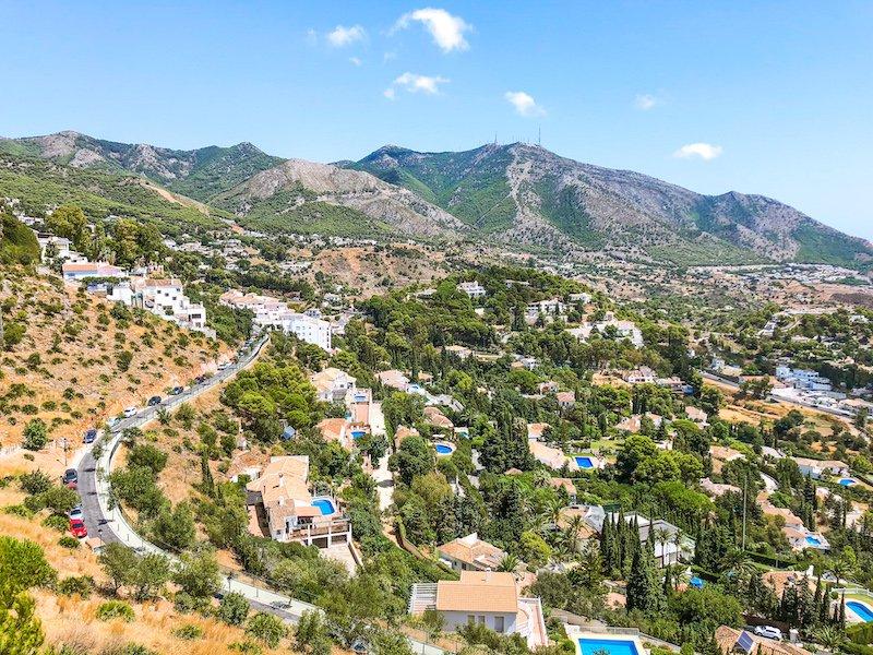 Mijas Spain View