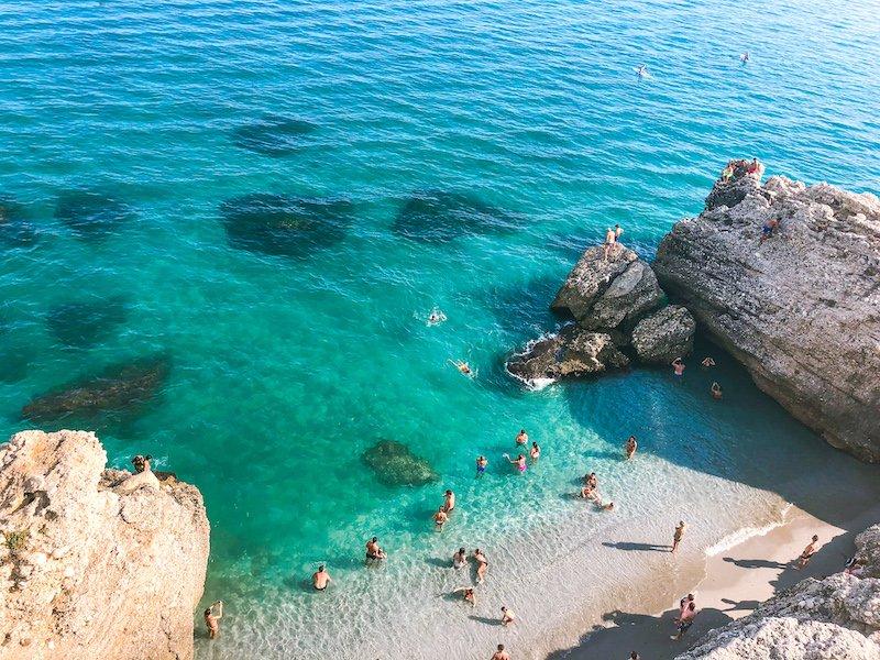 Nerja Beach Spain