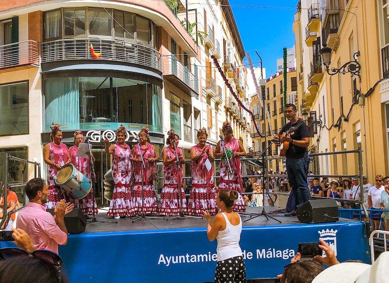 flamenco dancer feria de malaga