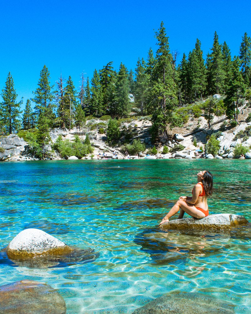Secret Cove nude beach at Lake Tahoe, Nevada 3 - YouTube