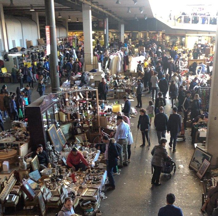 mercat els encants barcelona flea market
