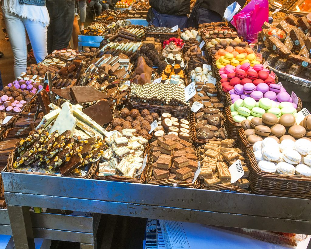 la Boqueria mercat barcelona