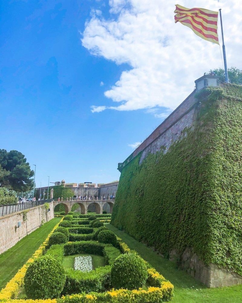monjuic castle barcelona