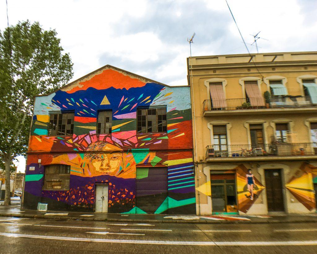 street art poblenou barcelona