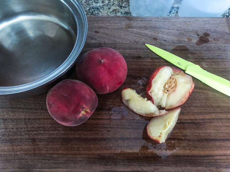 peaches for bellini cocktail recipe