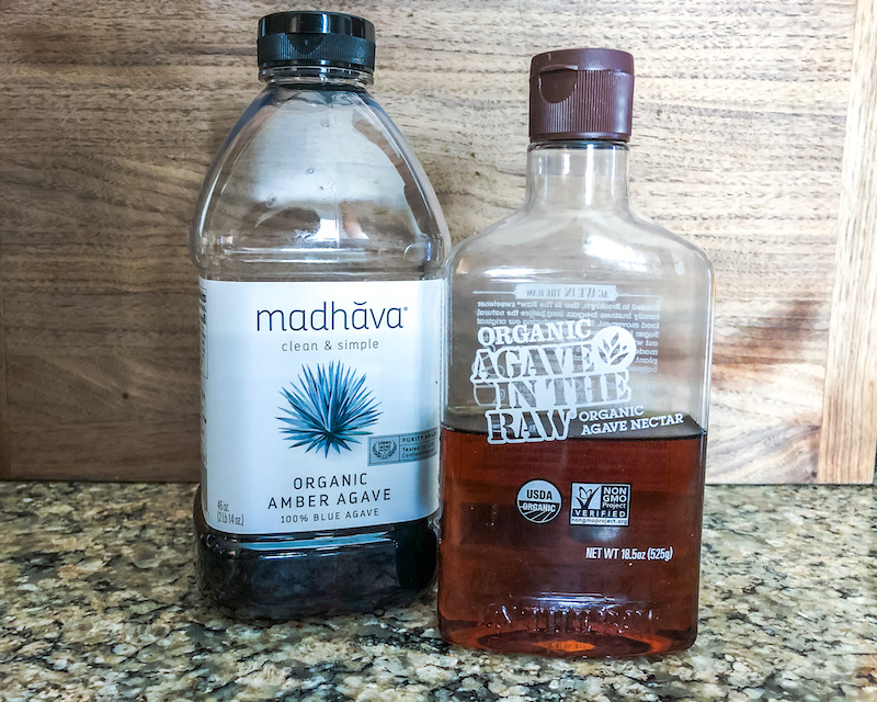 Madhava and agave in the raw organic agave nectar