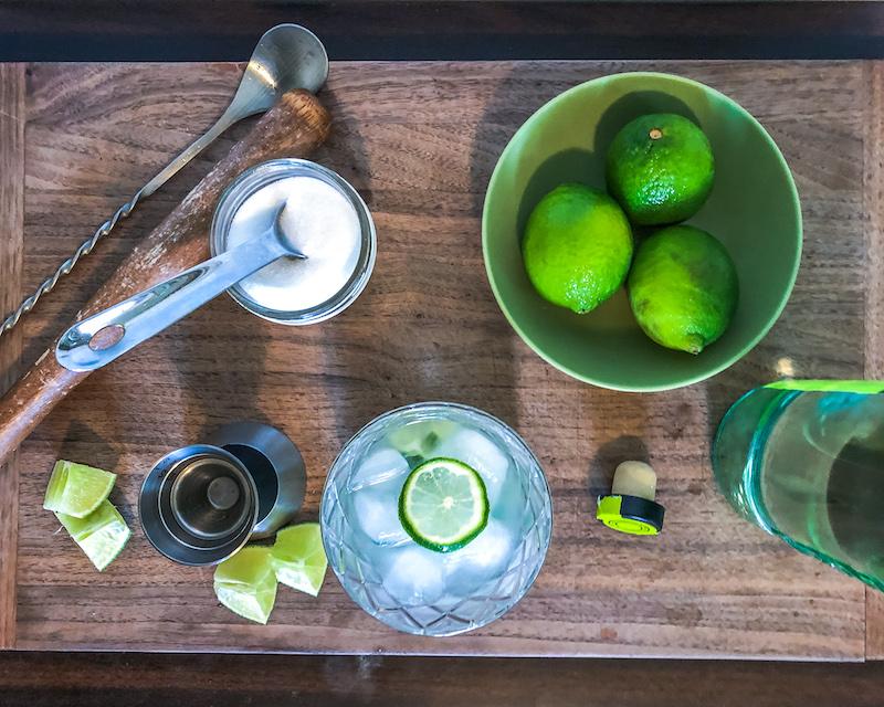 Caipirinha Cocktail ingredients