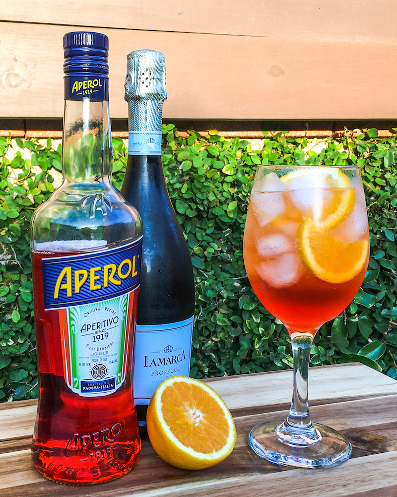 aperol spritz recipe ingredients