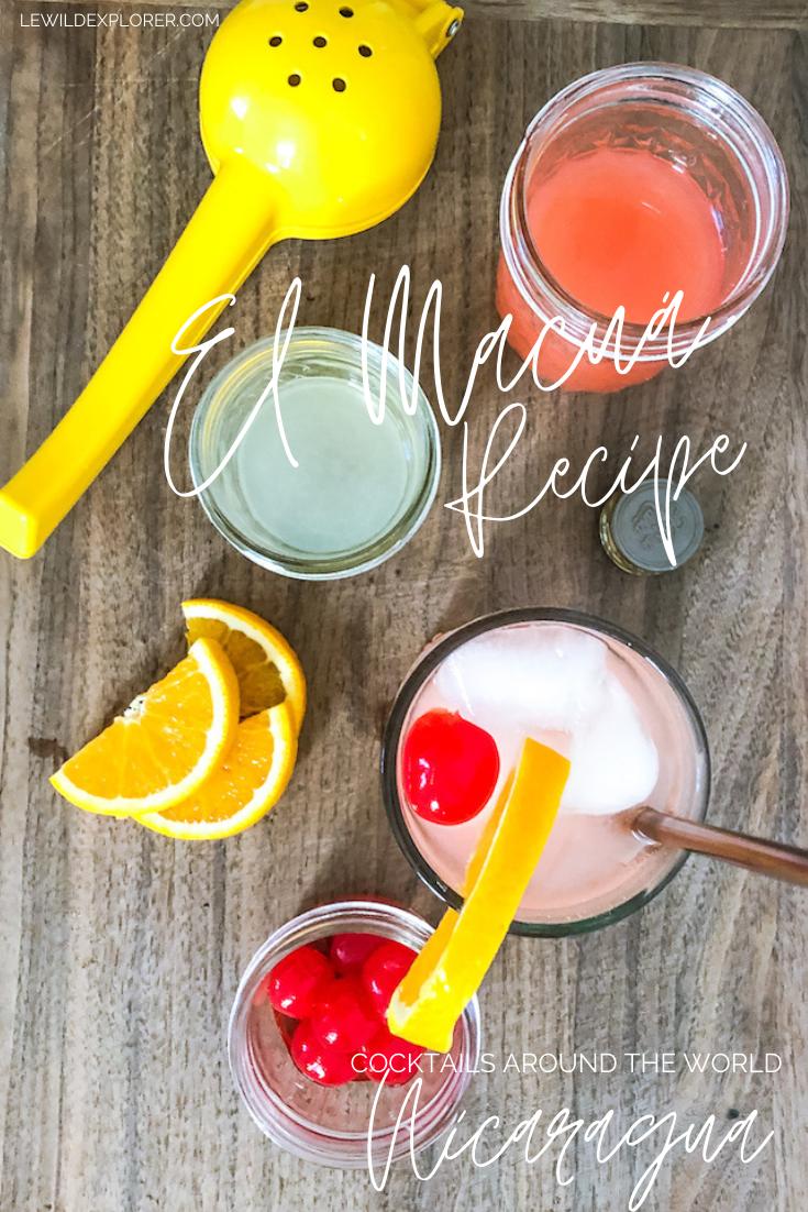 el macua cocktail recipe
