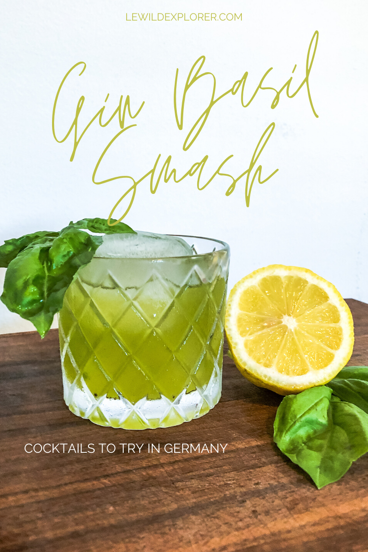 how to make a gin basil smash cocktail