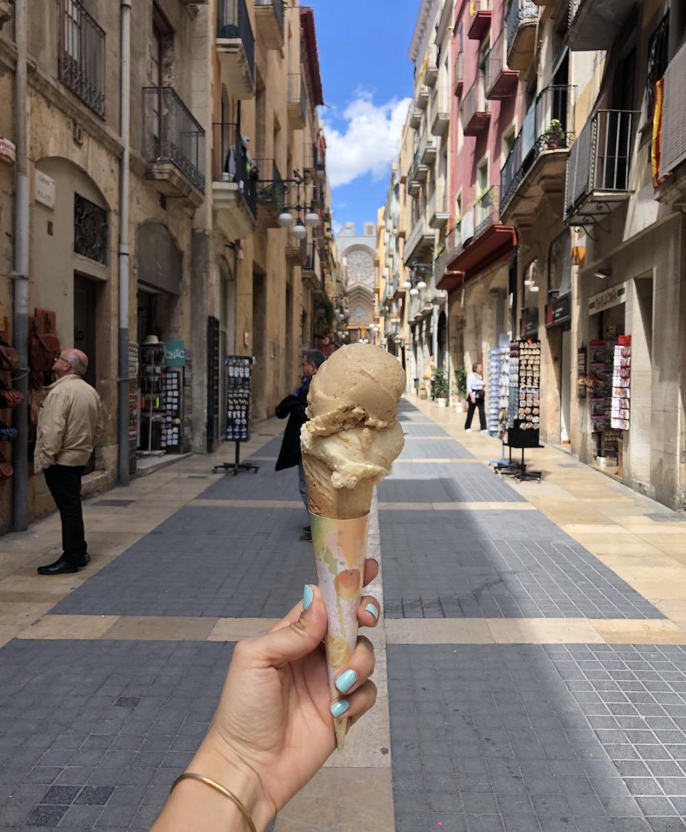 ice cream tarragona