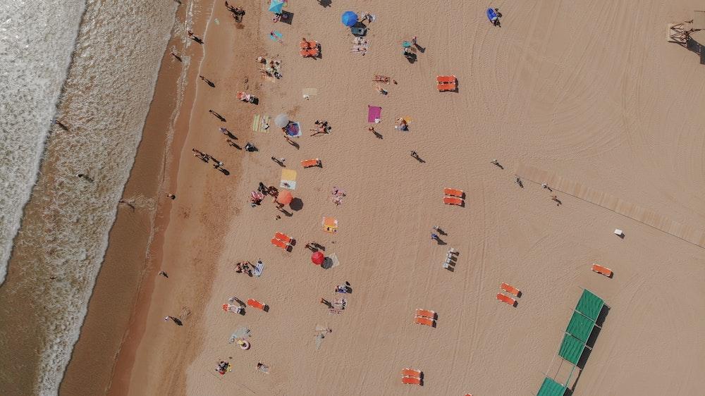 beach in tarragona spain