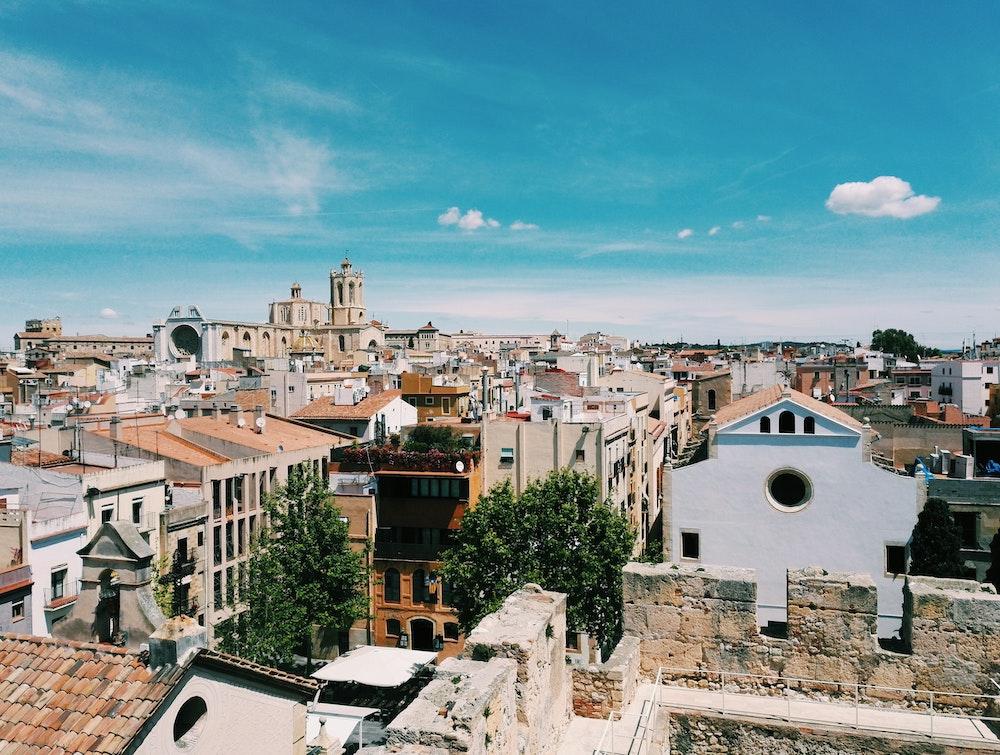 tarragona spain city view