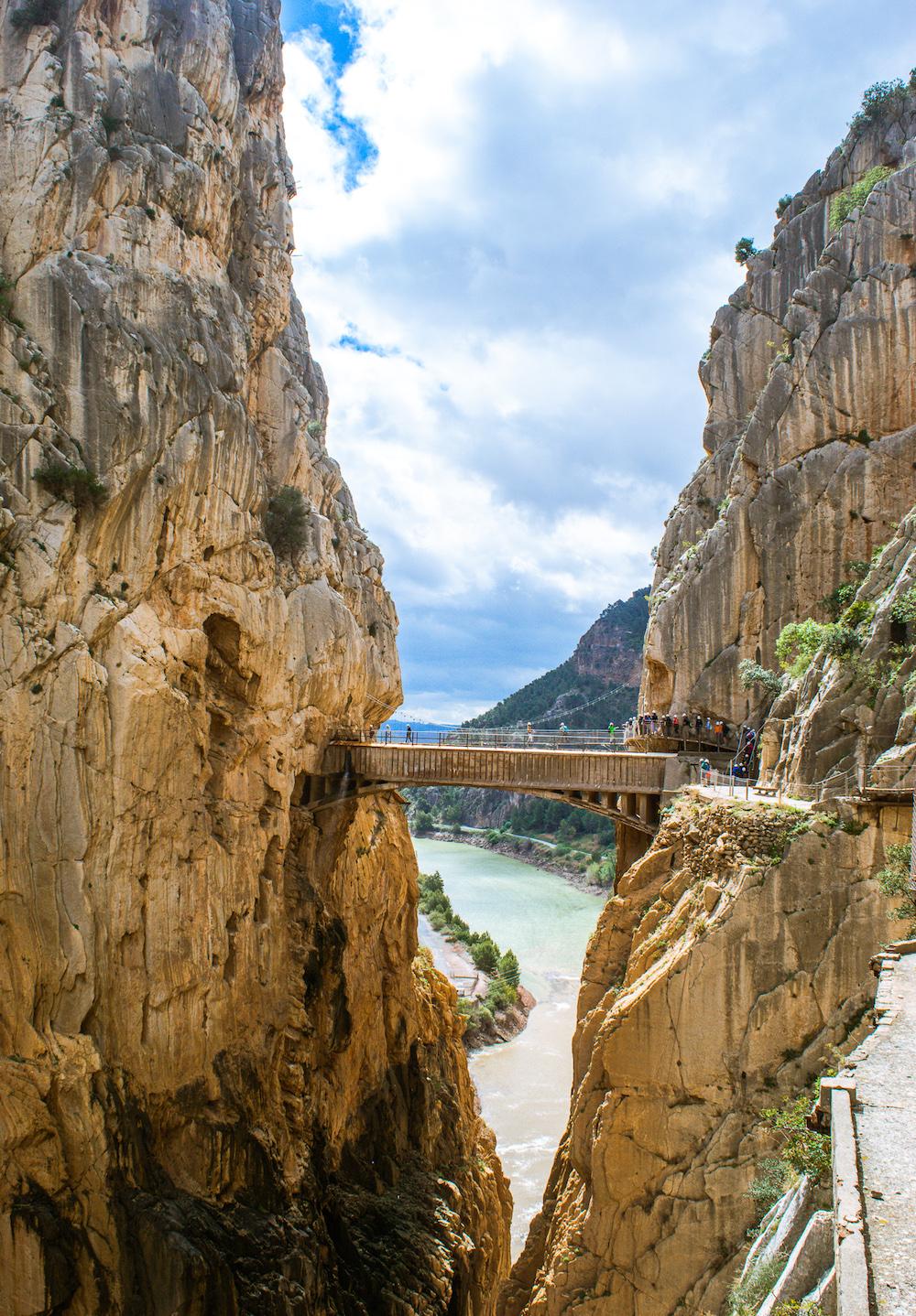 caminito del rey suspension bridge