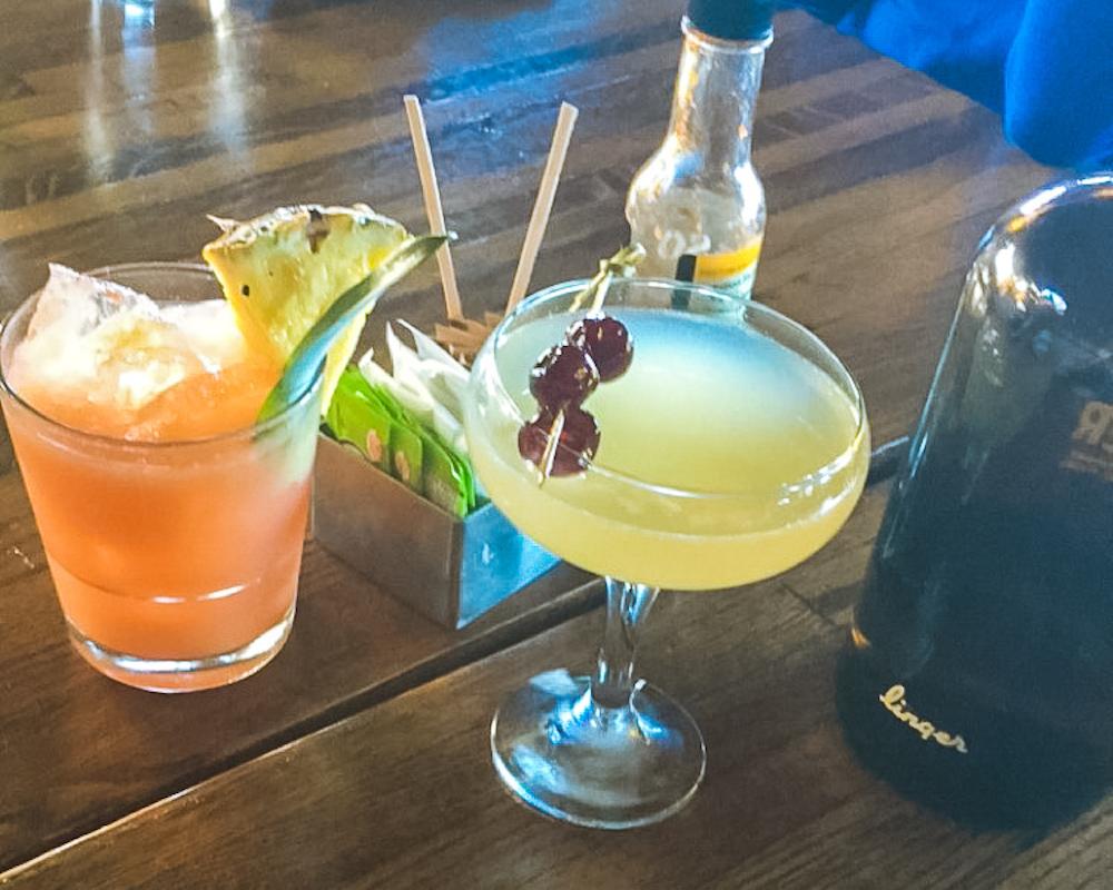 drinks at linger denver