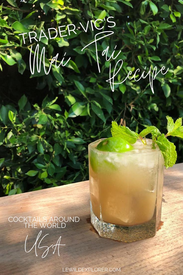 mai tai Recipe cocktail