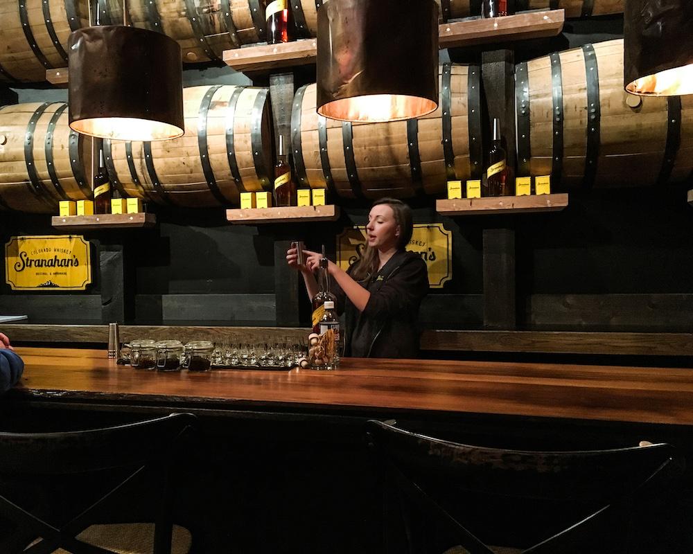 stranahans whiskey tasting
