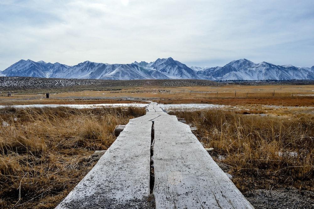 mammoth lakes to bridgeport eastern sierras road trip