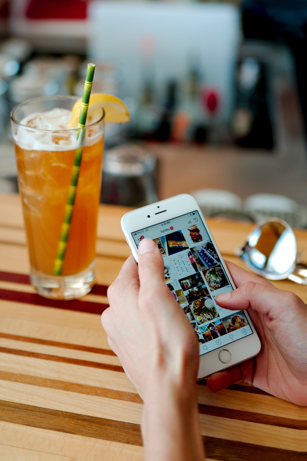 finding location through social media for self guided tour
