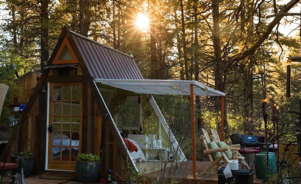 a-frame cabin near zion national park utah
