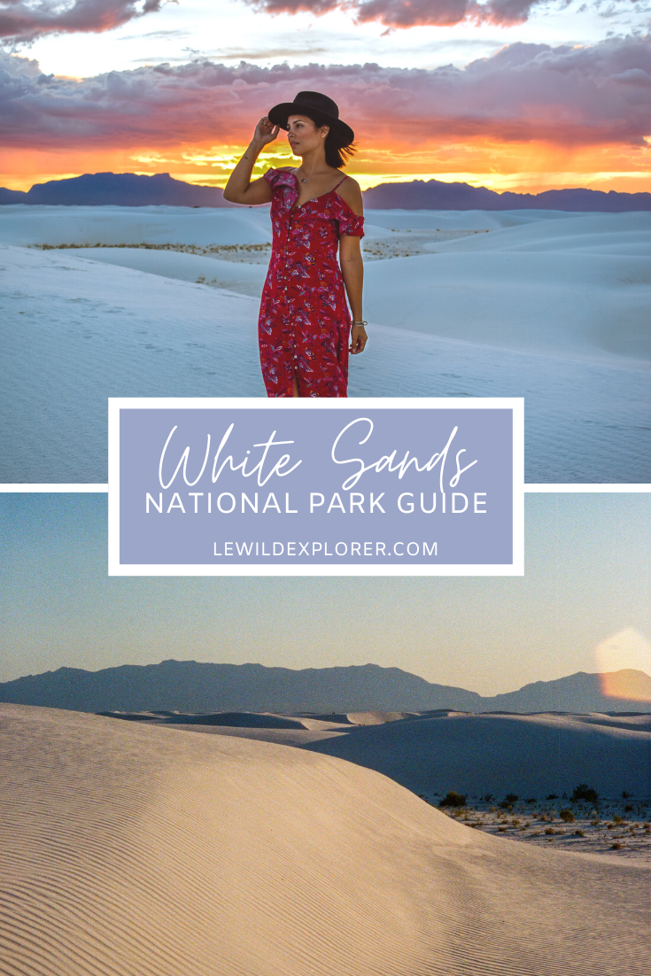 New Mexico white sands national park guide