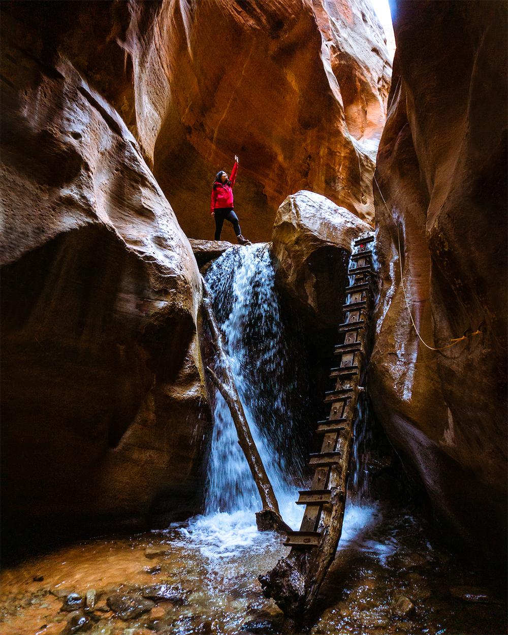 kanarra falls canyon hike kanarraville utah
