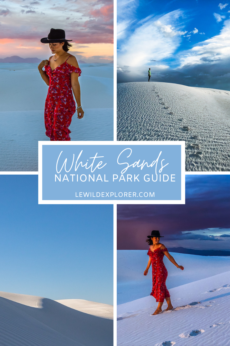white sands national park guide New Mexico
