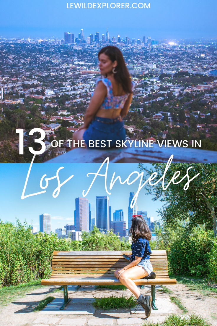 best LA angeles skyline views