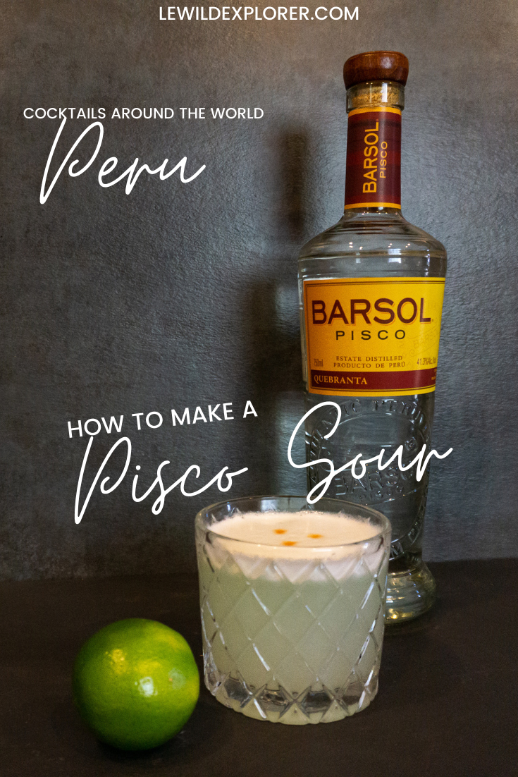 how to make pisco sour cocktail
