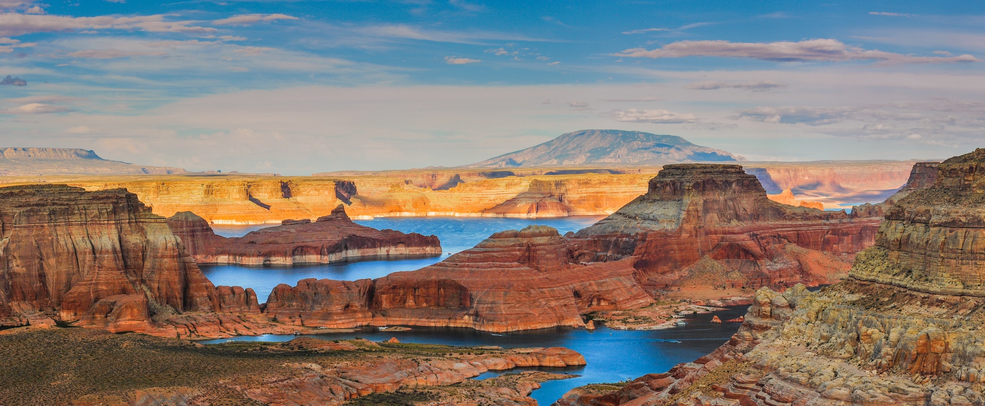 alstrom point in page arizona overlooking lake powell