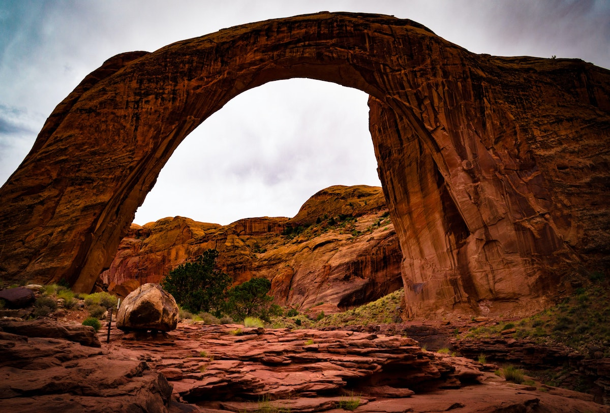 rainbow bridge national monument in AZ