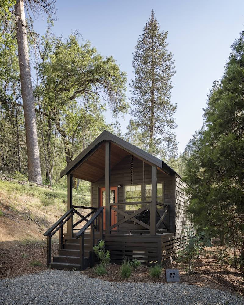 Cabin at AutoCamp Yosemite National Park
