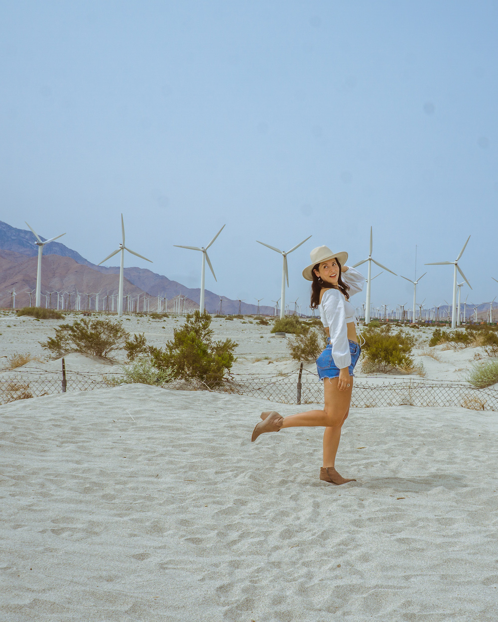 shooting at the palm springs windmills