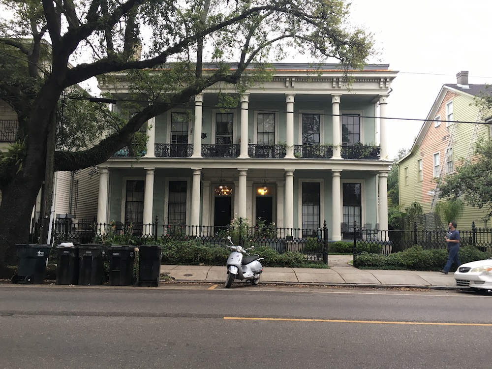 home in garden district new orleans louisiana
