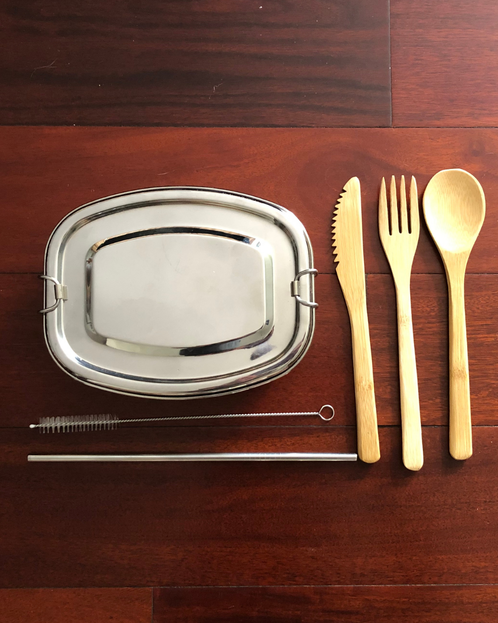 travel utensils and container