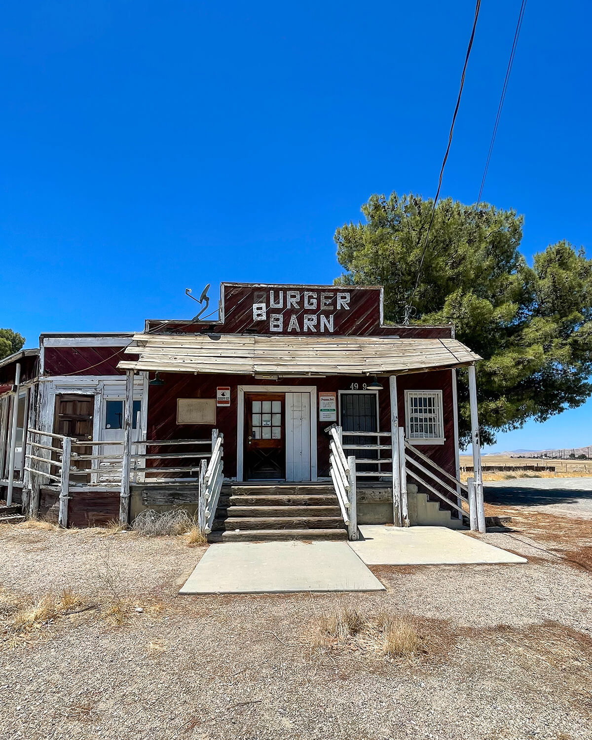 burger barn where to eat in new cuyama