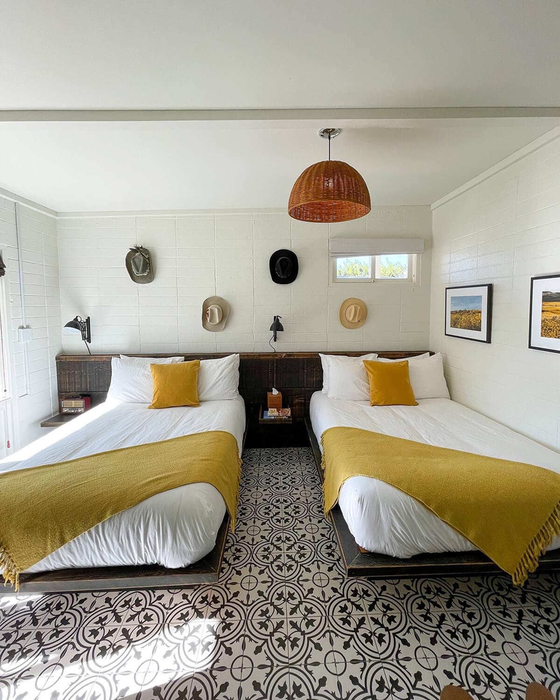 cuyama buckhorn double room interior