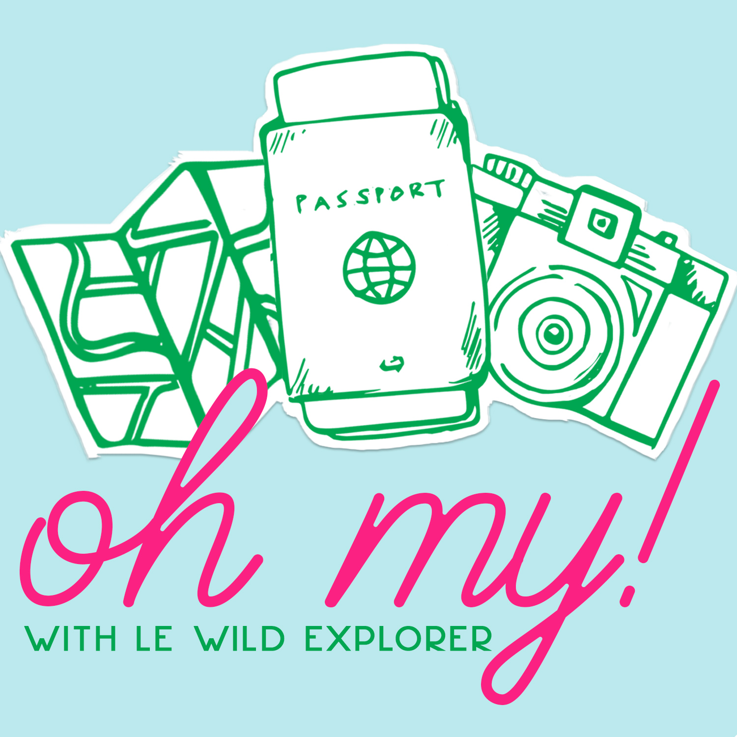Passports, Cameras & Maps, Oh My! Travel Podcast